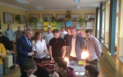 Niemieccy goście z programu Erasmus+