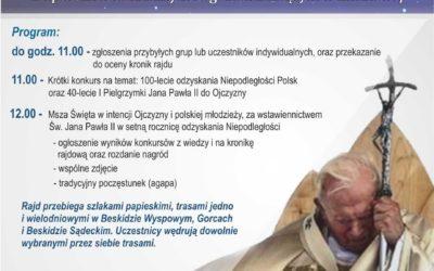 XVII Gwiaździsty rajd szlakami Jana Pawła II