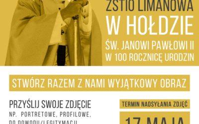 Konkurs literacki z okazji stulecia urodzin Jana Pawła II
